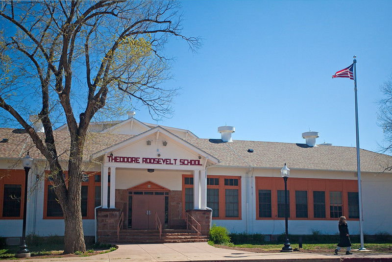 Theodore Roosevelt School at Fort Apache (image)