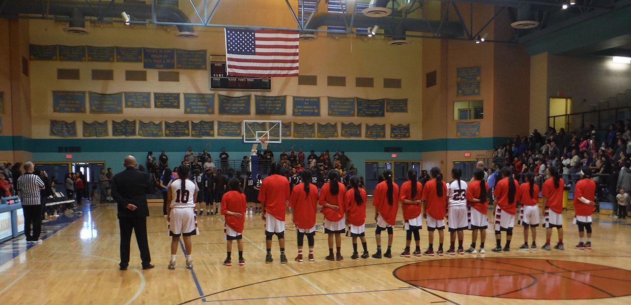 Theodore Roosevelt School Warriors: Girls Basketball (image)